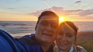 Dr. Slava Borisenko and his wife